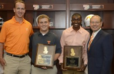 2014 University of Tennessee Peyton Manning Scholarship Recipients, photo courtesy of Donald Page, Tennessee Athletics