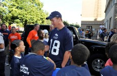 2012 Denver Heartwalk, photo courtesy of the Denver Broncos
