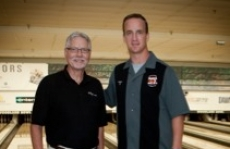 Peyton Manning and Chuck Markey, 2010 PeyBack Bowl