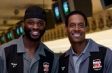 Reggie Wayne and Bill Brooks, 2010 PeyBack Bowl